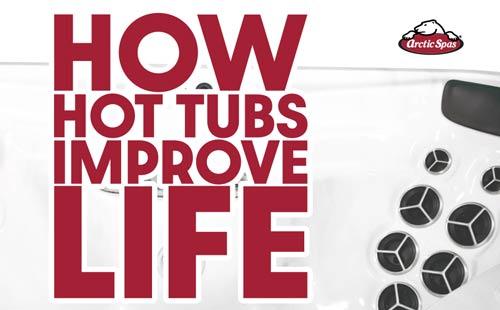 how hot tubs improve life